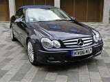 Photo Left Hand Drive Mercedes Benz - CLK 350 V6...