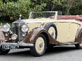 Photo 1938 Rolls-Royce 25/30 Park Ward Four...
