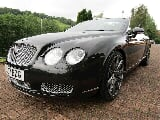 Photo Bentley Continental Gtc Convertible 6.0...