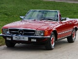 Photo Manual 280SL 107 | Only 10K Miles | Signal Red...