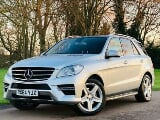 Photo Mercedes ml250 bluetec amg sport