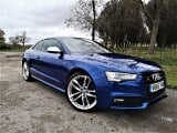 Photo 2016 audi a5 s5 tfsi quattro s line black...